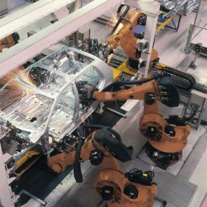 拓成设计团队德国设计展实录,分分钟换一个汽车轱辘高科技机器人!
