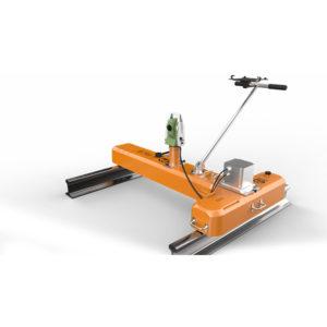 轨道小车几何测量仪-机械设计