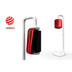 红点创意中国元素落地电风扇