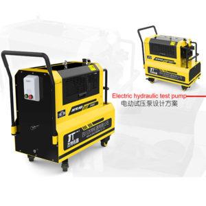 检测便捷、高效的电动试压泵