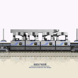 微波生产线设计案例